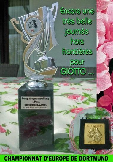 CHAMPIONNAT D'EUROPE DORTMUND 2015